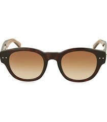 48mm rounded square sunglasses