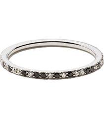 raphaele canot 18kt white gold animal print diamond ring