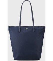 bolso azul osucro lacoste