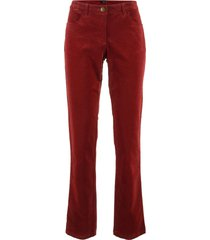pantaloni in velluto (rosso) - bpc bonprix collection