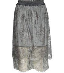 melissa skirt knälång kjol grå designers, remix