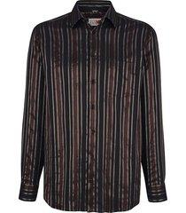 overhemd roger kent zwart::goudkleur