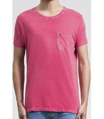 camiseta salt 35g pocket pink masculina - masculino