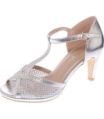 zapato fiesta plata hualun