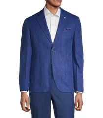 ben sherman men's clere stretch-fit sport jacket - bright blue - size 44 l