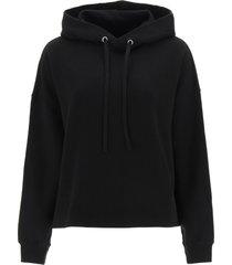 maison margiela printed hoodie
