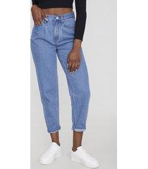 jeans slouchy básico i azul medio  corona
