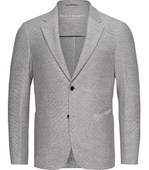 bs barbaresco tailored, blazer blazer kavaj grå bruun & stengade