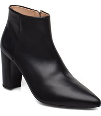tilden_na shoes boots ankle boots ankle boots with heel svart unisa