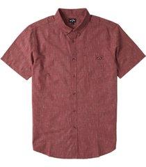 men's all day short sleeve shirt