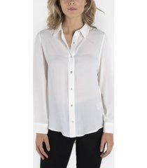 nanette nanette lepore long sleeve button down collar shirt