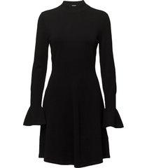 florentina dress stickad klänning svart inwear