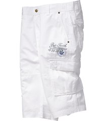 bermuda lungo regular fit (bianco) - bpc bonprix collection