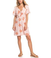 roxy juniors' summer on top printed dress