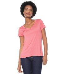 blusa lunender básica rosa - kanui