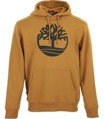sweater timberland core tree logo pull over hoodie