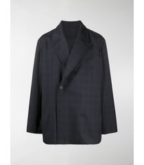 balenciaga flap tailored blazer