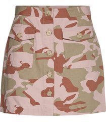 lr-jessie print kort kjol multi/mönstrad levete room
