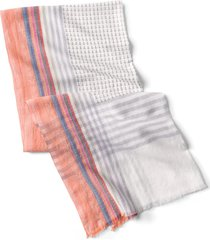 nautical plaid scarf