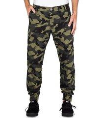 calça alfa sarja jogger camuflada
