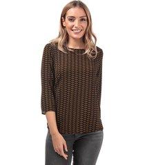 womens nova lux mesa 3 quarter sleeve top