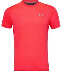 ua streaker 2.0 shortsleeve t-shirts short-sleeved rosa under armour