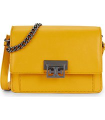 paislee leather messenger bag