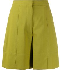 3.1 phillip lim tailored walking shorts - green