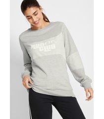 sweater met biologisch katoen, lange mouw