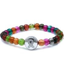 boheme watermelon tourmaline ribbon lifesaver bracelet