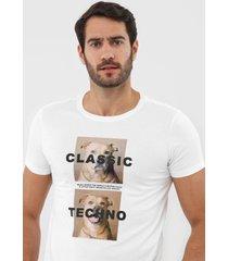 camiseta sergio k dogs  branca - kanui