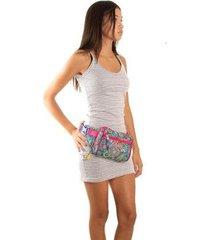 pochete ana viegas tecido matelassê divisórias feminina