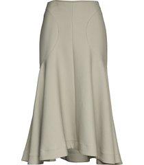 mazille knälång kjol beige totême