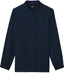 a.p.c. blouse aline