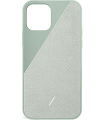 clic canvas iphone 12 case - sage