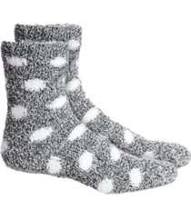 charter club dots super soft butter crew socks, created for macy's