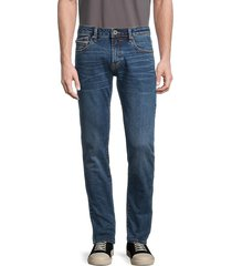 cult of individuality men's rocker slim-fit jeans - stone - size 32