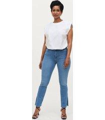 jeans molly petite slit jeans