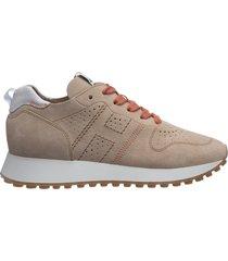 scarpe sneakers donna in pelle h429