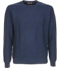 altea blue cotton jumper