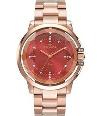 relógio technos elegance crystal 2036mln/4r feminino