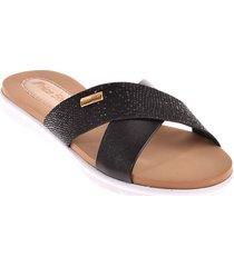 priceshoes sandalia confort dama 752rominanegro