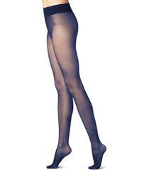 calzedonia 20 denier sheer matte tights woman blue size 3