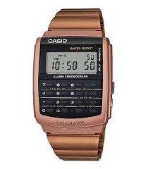 reloj casio ca-506c-5a oro rosa