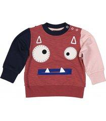 bluza little vampire sweatshirt red