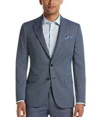 joseph abboud blue nailhead slim fit suit