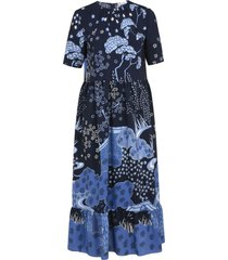 red valentino all-over printed dress