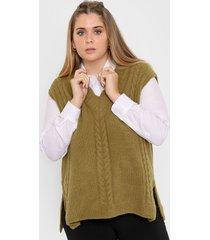 chaleco verde vindaloo miranda lana
