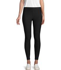 vince women's stretch legging - black - size xs