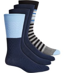 alfani men's 4-pk. dress socks, created for macy's